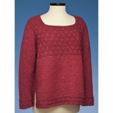 Vermont Fiber Designs 174 Square Neck Side Slit Pullover PDF