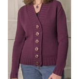 Basix 104 Cambridge Top-Down Cardigan PDF