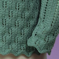 107 Fir Cone Lace Cardigan PDF