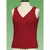 Vermont Fiber Designs 177 Cable Tank Top PDF