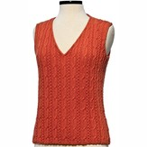 Vermont Fiber Designs 179 Cable and Openwork Vest PDF