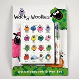 Wacky Woollies Irish Notebook & Pen Set