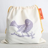 Blue Sky Alpacas Pretty Cheep Periwinkle Project Bag