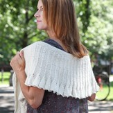 Introduction to Texture: The Morning Bells Shawl