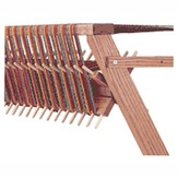Schacht Sectional Warp Beams for Wolf Series looms
