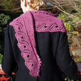Ysolda Scroll Lace Scarf PDF